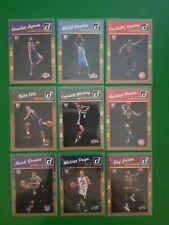 2017/18 Panini Donruss NBA 9 card rookie lot