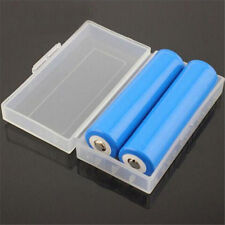 Battery Case Holder Box Storage Spare Carrier for 2x 18650 CR123A 16340 4X 18350
