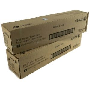 Lot of 2 Xerox Black Toner Cartridge 006R01158 for WorkCentre 5325, 5330, 5335