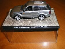 VOITURE COLLECTION JAMES BOND RANGE ROVER SPORT QUANTUM OF SOLACE