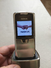 Nokia 8800 Stainless Steel - GSM Unlocked *VINTAGE* *COLLECTIBLE* *SUPER RARE*