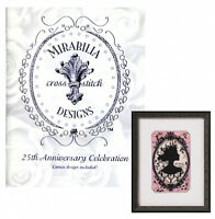 Mirabilia 25th Anniversary Celebration Booklet with Cameo Cross Stitch Pattern