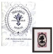 Mirabilia 25th Anniversary Celebration Booklet with Cameo Cross Stitch Pattern