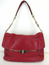 Coach Scarlet Genuine Leather Madison Shoulder Flap Bag MSRP $298 #CHN 50