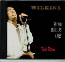 Wilkins Todo Ritmo  En Vivo  en Bellas Artes     BRAND NEW SEALED  CD