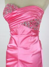 Windsor $85 Neon Pink Evening Prom Formal Cruise Dress Short Homecoming size 7