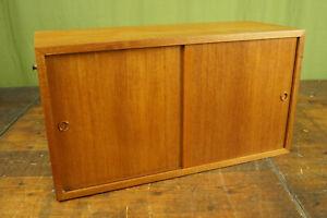 String Shelf Teak 60s Sideboard Cabinet Vintage Wall Danish Nisse Strinning