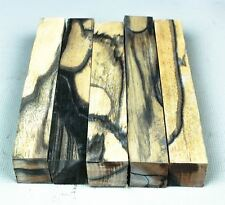 Black & White Ebony Pen Turning Blanks, Exotic Crafting Wood  PB9371