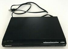 SONY CD & DVD UPSCALING PLAYER DVP-SR510H HDMI 1080p NO REMOTE PRE-OWNED NICE