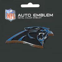 Carolina Panthers Heavy Duty Metal 3-D Color Auto Emblem