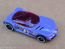 2014 Hot Wheels GOLDEN ARROW from 5 Pack LOOSE Purple