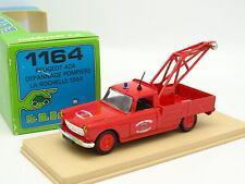 Eligor 1/43 - Peugeot 404 Pick Up Feuerwehr Problembehandlung Bei New Rochelle