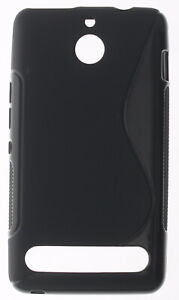For Sony Xperia E1 S Line Silicone Gel Skin Case - Anti-Slip Grip