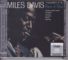 """Miles Davis - Kind of Blue"" Limited Numbered Stereo Hybrid DSD SACD Jazz CD New"