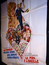 LA PUCE A L' OREILLE  Rex Harrison  affiche cinema  1968