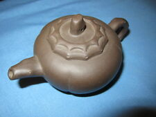 Signed Chinese Yixing  Dark Clay Traditional  Tea Pot