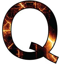 Q anon follow the rabbit info  sticker decal 5inch