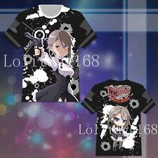 Princess Principal Ange Anime Cosplay Costume Man Short Sleeve T shirt Tee Tops
