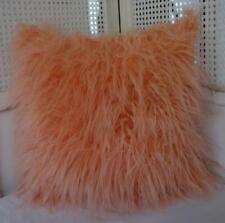Faux Fur Patternless Modern Decorative Cushions & Pillows