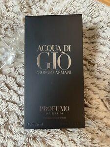 Armani Acqua di Gio Profumo 180 ml Eau de Parfum XXL-Flakon Neu & Ovp 180ml EdP
