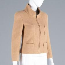 Chanel camel cashmere jacket Lot 2123