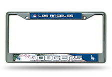 Los Angeles Dodgers Metal Chrome License Plate Frame Auto Truck Car MLB