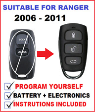 1x REMOTE CONTROL SUITABLE FOR FORD RANGER  PJ PK  2006 2007 2008 2009 2010 2011