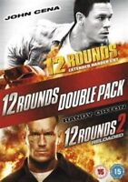12 Rounds / 12 Rounds - Reloaded (DVD, 2013, 2-Disc Set) New Sealed - Free Post