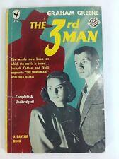 Graham Greene THE 3rd MAN Third Bantam 1950 Mystery PULP Movie Tie In Vintage PB