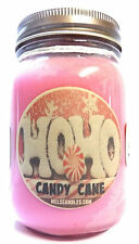 Candy Cane 16oz  Wholesale Scented Soy Candle Christmas Aroma
