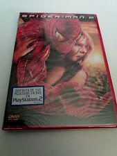 "DVD ""SPIDER-MAN 2"" 2DVD PRECINTADO SEALED SAM RAIMI TOBEY MAGUIRE KIRSTEN DUNST"