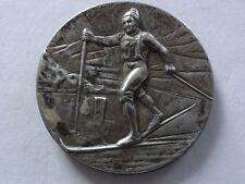 SKI - Langlauf - Bolzano / Bozen Tirol - Medaille ca. 1920 - Edelweiß -