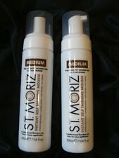St Moritz INSTANT SELF TANNING MOUSSE MEDIUM  x 2 - 200ml each