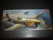 ACADEMY  P-40E WARHAWK  PLASTIC MODEL 1/72