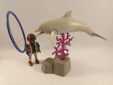 sympa dresseur de dauphin playmobil ( animaux , zoo , aquarium ) 1832