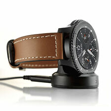 Wireless Charging Charger Cradle Dock for Samsung Gear S3 Classic/Frontie Watch