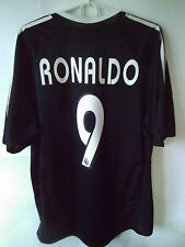 VERY RARE!!!! RONALDO !!! 2004-05 Real Madrid Away Shirt Jersey Trikot L