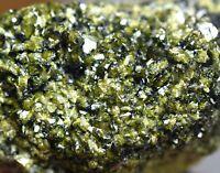 82 GM Full terminated transparent Precious Epidote Crystals,Sphene,Mica,Specimen