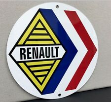 Renault Alpine French Racing Vintage Logo Reproduction Garage Sign