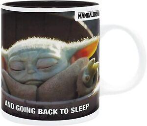 OFFICIAL STAR WARS THE MANDALORIAN BABY YODA MEME CERAMIC COFFEE MUG CUP NEW *