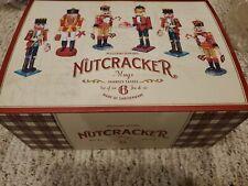William Sonoma 6 nutcracker mugs new in Box  Holiday Christmas