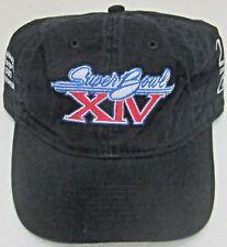 NFL Pittsburgh Steelers Black Super Bowl XIV Relaxed Fit Adjustable Hat, Reebok