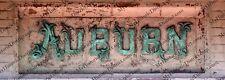 "Auburn, Alabama Train Depot Sign Panoramic Photo 5"" x 14"" FREE SHIPPING!"