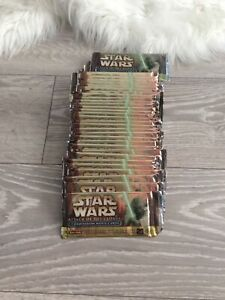 Star Wars Attack of the Clones Widevision Trading Card Pack Possible Autograph??