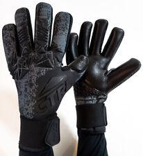 CTRL PRO Contact Foam Negative Cut Soccer Goalkeeper Goalie Gloves Black Gray 10