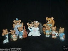Lot Home Interiors Bears Sports Music Bride Homco Bear