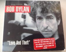 BOB DYLAN - Love And Theft - Limited Edition Digipak 2CD Set - Columbia label