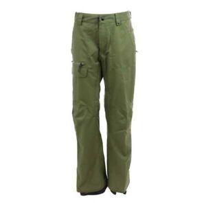 686 Vice Shell Snowboard Pant (L) Surplus Green M0W214-SPGR