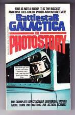 BATTLESTAR GALACTICA 1979 full colorTV photonovel reveals rude message in show.