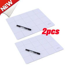 2pcs Delcast Magnetic Project Mat Anti Slip for Smart Phone Laptop Disassembly T
